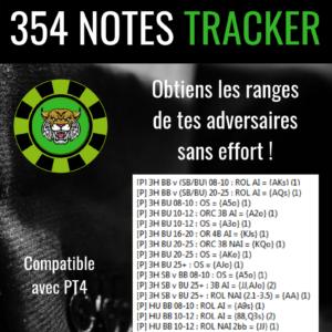 354 Notes Tracker Lynx PT4
