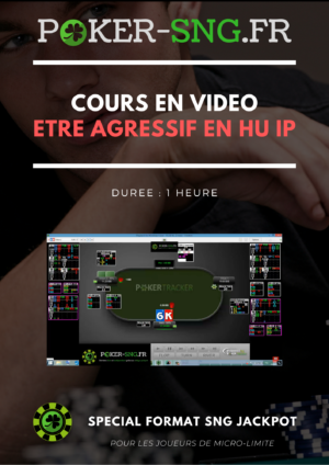 COURS POKER En VIDEO Etre agressif en HU IP