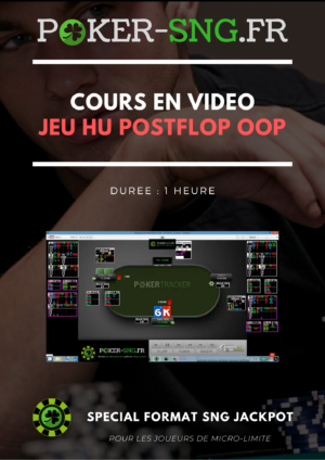 COURS POKER En VIDEO Jeu HU postflop OOP