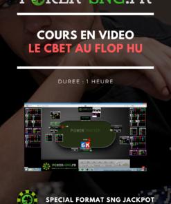 COURS POKER En VIDEO Le Cbet au flop HU