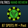 Pack complet - Filtres Hand Review PT4